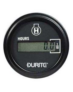 Hours run counter digital