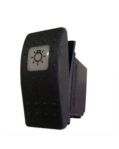 Contura II Complete Switch Single Pole On None Off No Led Interior Light