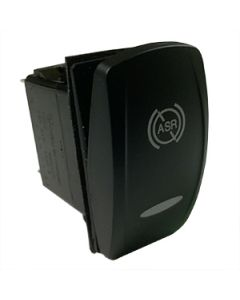 Contura V Laser Etched Single Pole (On) None Off 2 LED's Green Amber 24Vdc ASR