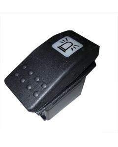 Contura II Complete Switch Single Pole On None Off Single White Lens Beacon Legend Soft Black