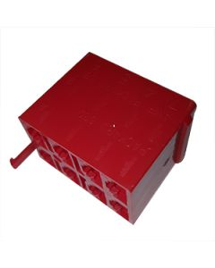 V Series Connector Housing 8 Way Red VCH-03