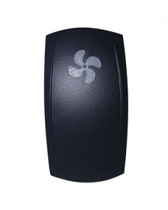 Switch Actuator Contura V Laser Etched Fan Symbol Carling UE