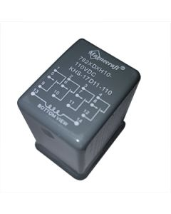 Relay Hermetically Sealed 4PCO 3A 110Vdc Magencraft SE Relays